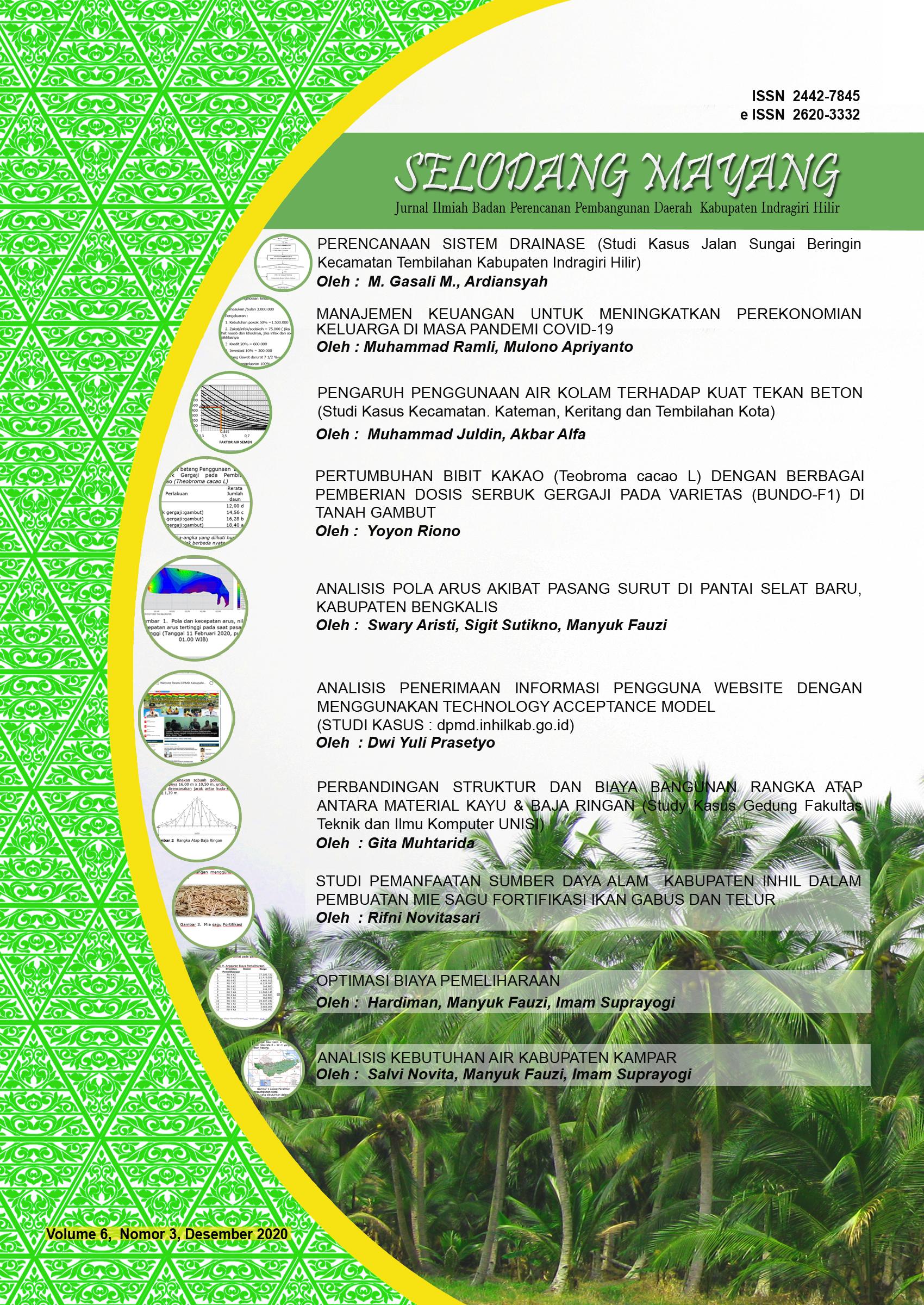 Jurnal Selodang Mayang